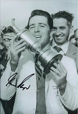 Gary PLAYER SIGNED Autograph Photo AFTAL COA Golf OPEN Winner Muirfield 1959