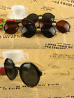 Vintage Hand Made Natural Bamboo Wooden Arms Retro Fasion Style SunGlasses J0096