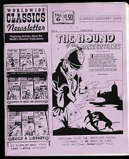 WORLDWIDE CLASSICS ILLUSTRATED NEWSLETTER # 6 COMICS FANZINE MAGAZINE HTF