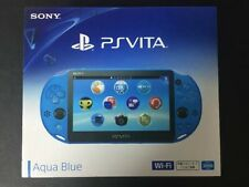 Sony PS Vita PCH-2000 ZA23 Blue Console Wi-Fi Japan domestic version F/S NEW
