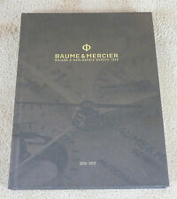 CATALOGUE  BAUME & MERCIER  - 2016 / 2017 - WATCHES CATALOG