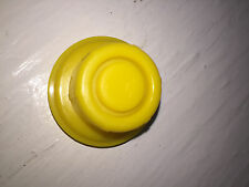 2 X BLITZ Yellow Spout Cap fits self-venting gas can spouts 900302 900092 900094