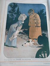 Pub 1910  Phare Ducellier éclaitrant un petit ange