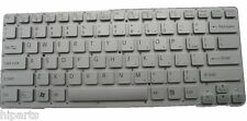 New Silver Keyboard For Sony Vaio VPCCA VPC-CA VPCCA36 VPCCA38 US 9Z.N6BBF.B01