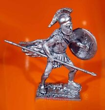 Tin Soldiers 54mm Greek Hoplite with spear, 5th century BC A5