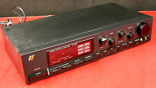 SANSUI C-1000 Stereo Control Amplifier Late 80s Vintage - Tested GOOD!