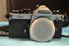 LIKE-NEW Nikon FM2 SILVER BODY film camera READ