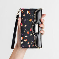 Rebecca Minkoff Leather Folio Wristlet Case Apple iPhone 6/6S plus -FLORAL PRINT