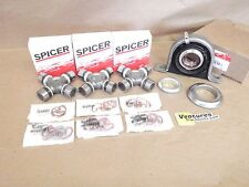 CARRIER SUPPORT BEARING AND DRIVESHAFT SPICER LIFE U JOINT KIT FORD F250 F350