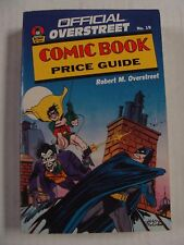 Overstreet Comic Book Price Guide - 19th Edition (1989-1990) Robert M Overstreet