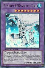 YU-GI-OH: ELEMENTAL HERO ABSOLUTE ZERO - SUPER RARE - GENF-ENSE1 - LIM EDITION