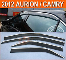FIT FOR 2012-2014 TOYOTA CAMRY WIND WEATHERSHIELD RAIN GUARD WINDOW VISOR