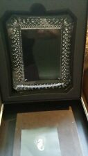WATERFORD Crystal LISMORE 8 X 10 PICTURE FRAME #128019 WITH Waterford Box