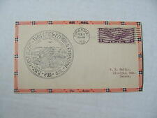 Very Fine! 1931 Winnipeg, Manitoba, Canada US AIR MAIL First Flight Cachet Cover