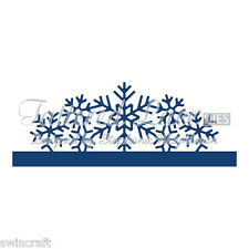 Tattered Lace Cutting Dies Over The Edge Snowflake  Stephanie Weightman D927 *