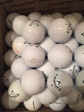 GOLF BALLS-(100) CALLAWAY HX BITE MIX...(AAA) CONDITION...SOME LOGO BALLS...