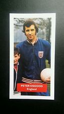 ENGLAND - CHELSEA - PETER OSGOOD Score UK football trade card