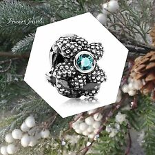 $35 Authentic Pandora  Charm Sea Star, Turquoise Synthetic Spinel 791163SST
