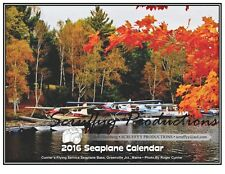 SEAPLANE WALL CALENDAR FOR 2016 - Seaplane Aviation Aircraft Calendar - Framable