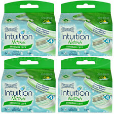 12 Wilkinson Intuition Sensitive Care Naturals Rasierklingen Klingen Aloe Vera