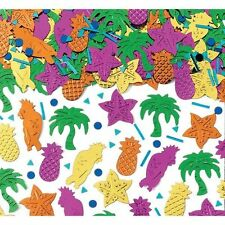 HAWAIIAN Table confetti Sprinkles Tropical Island Party Confetti FREE P&P