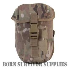 PLCE WATER BOTTLE POUCH CRYE MULTICAM CAMO Utility Canteen Belt Holder Webbing