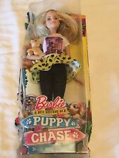 BARBIE AND HER SISTERS PUPPY CHASE DOLL 2015
