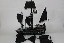 LEGO 4184 Pirates of the Caribbean Black Pearl-Incomplete has instructions AS IS