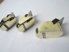 "3pcs ""hill"" Style Brass Mini,finger planes (2pcs convex bottom+1pcs flat bottom)"