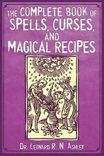 Complete Book of Spells, Curses, and More Book ~ Wiccan Pagan Witchcraft Library
