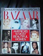 Vintage Harper's Bazaar  June 1992 America's 10 most beautiful women
