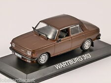 WARTBURG 353 in Brown 1/43 scale model by Altaya