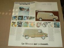 Dépliant Camion LEYLAND SHERPA  Brochure Prospectus prospekt truck LKW