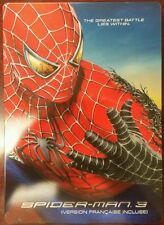 Spider-Man 3 DVD Steelbook Futureshop Exclusive Canadian OOP and HTF