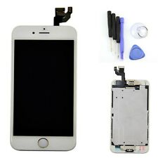 "Gold Home Button LCD Display Touch Screen Digitizer Parts For iPhone 6 4.7"" New"
