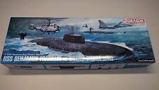 Dragon 1:700 USS Benjamin Franklin SSBN vs Soviet Sierra Class SSN model kit MIB