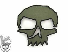 ill Gear MONSTER v1 GREEN SKULL hook & loop patch Tactical Survival Zombie Bags