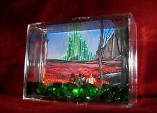 "L@@k~Wizard Of Oz ""EMERALD CITY CURRENCY"" Miniature Display Ready 4 the Taking!"