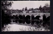 CRY SUR ARMANCON Yonne CPA 89 le pont sur l'armançon .