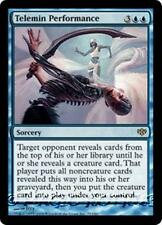 TELEMIN PERFORMANCE Conflux MTG Blue Sorcery RARE