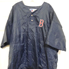 MLB Boston Red Sox Embroidered Baseball Jacket New XXL