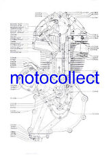 AJS 7R..MATCHLESS G50 Engine..Factory Technical Drawing