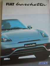 FIAT BARCHETTA opuscolo JUL 1997