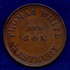 Australie, tasmanie, 1857 penny token (ref. c5012)