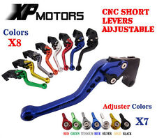 2001-2004 Suzuki GSX-R1000 K1 K2 K3 K4 CNC Short Adjustable Brake Clutch Levers