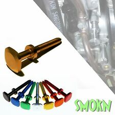 Sherco ST 250 300 Keihin PWK Easy Quick Adjust Carb Idle Screw Gold Anodised
