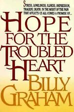 Hope for the Troubled Heart (Walker Large Print Books) Graham, Billy Paperback