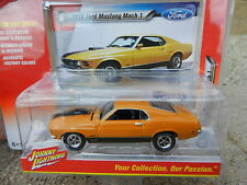 2016 Johnny Lightning *MUSCLE CARS USA R1A* Orange 1970 Ford Mustang Mach 1 *NIP