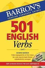 501 English Verbs: with CD-ROM (Barron's Language Guides)