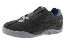 brand NEW leather SOURDOUGH OAKLEY  Grey/Blue trainers size UK 5,EUR 38.5